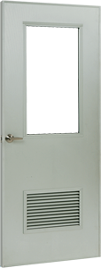 Aluminum Flush Doors